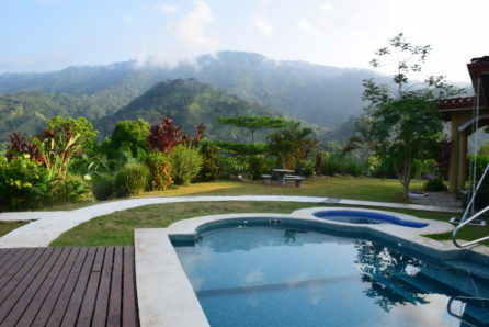 casa lapas costa rica villa pool