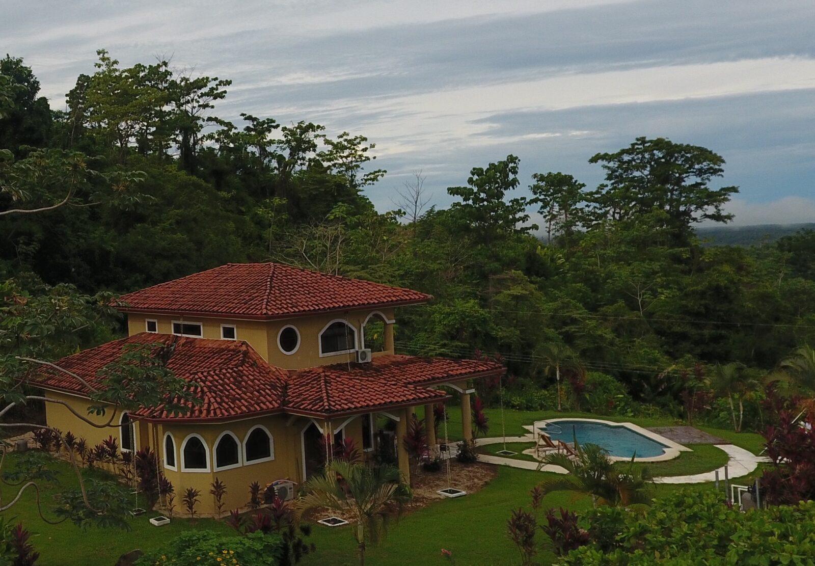 Drone casa lapas costa rica villa