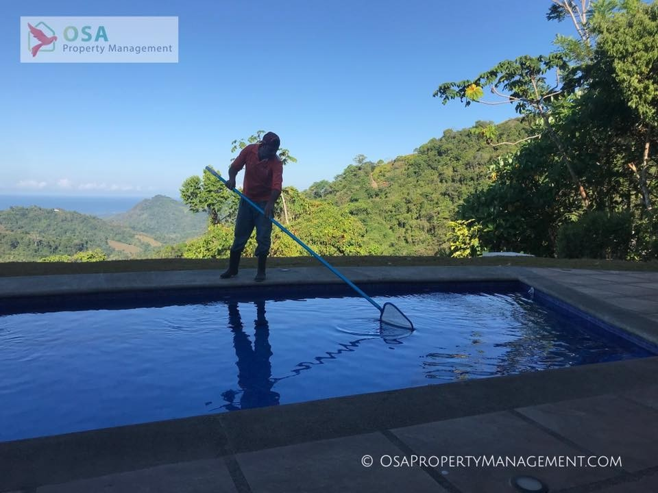 pool cleaning ojochal chontales