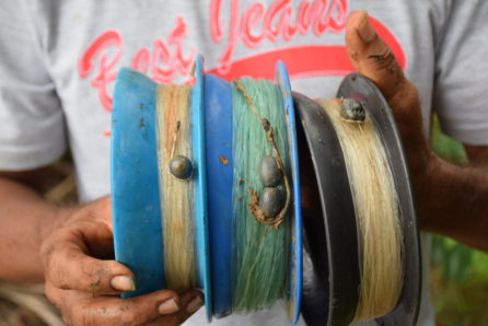 hand fishing costa rica spools
