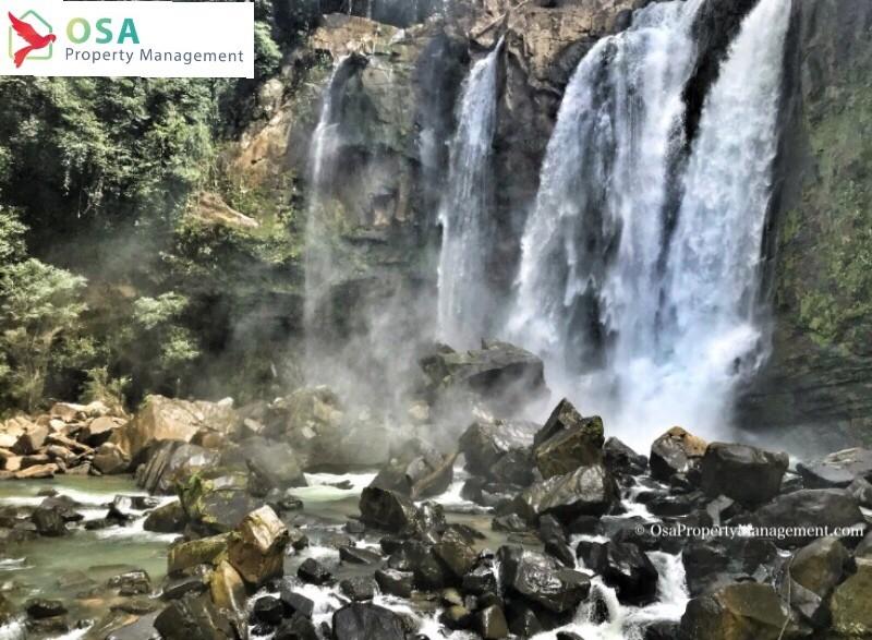 Nauyaca waterfall falls 1