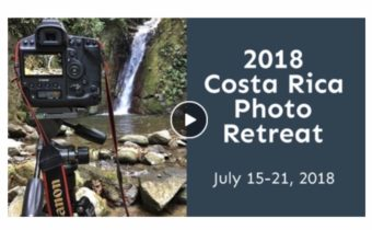 costa rica photo retreat video 2018 card