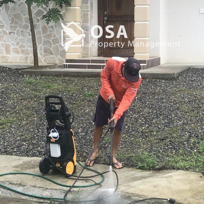 osa power washing